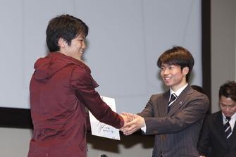 町田樹さん握手