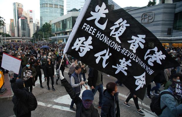 【香港デモ】勢いやまず「国際社会と一緒に圧力を」