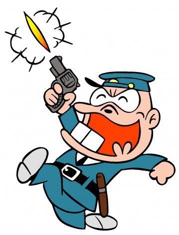 アメリカの教師「お前ら静かにしろ!」天井に向けた拳銃を誤って撃ってしまう。