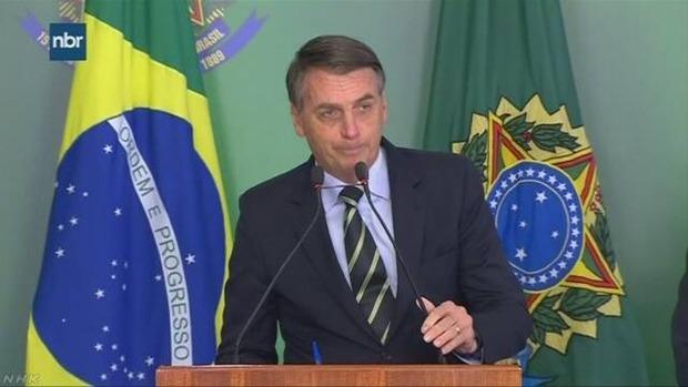 ブラジル大統領「市民が銃を所有しやすくなれば治安が改善する」→国民がほぼ無条件で銃を購入可能に