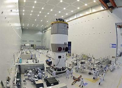 制御不能になっている中国の衛星「天宮1号」の落下予測地域が公表される