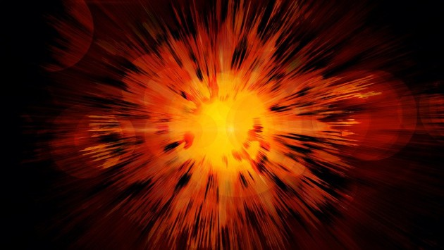 「宇宙は160億年前にビックバンという大爆発によって誕生した」←これ