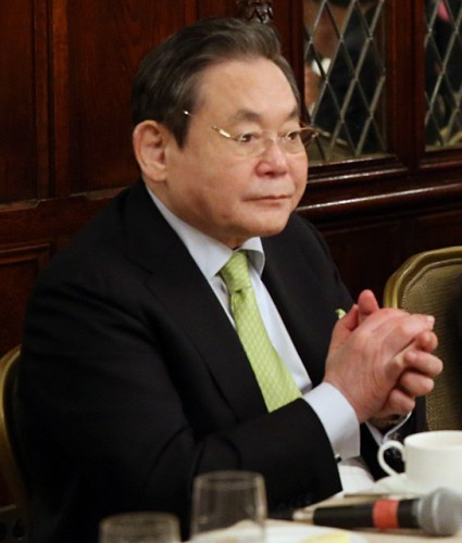 【速報】韓国・サムスン電子の李健煕会長(78)が死去