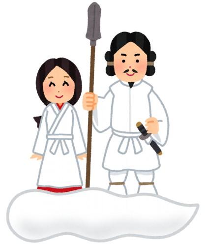 日本神話って絶対に女が作ったよな あと言語も。