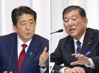 【同じ方向向けない】安倍首相、実質勝利の石破氏を要職に起用しない方針へ
