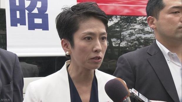 安倍総理が憲法改正の意向を表明 → 蓮舫「なぜ今なのか!」