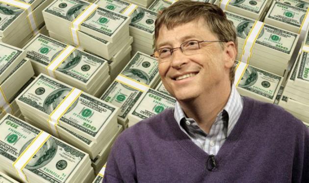 ビル・ゲイツ「ほら拾えよw」一千万バサバサ