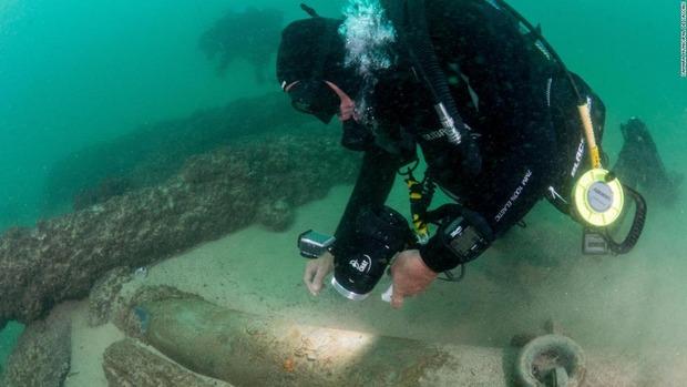ポルトガル沖に約400年前の沈没船、スパイスや陶磁器も見つかる