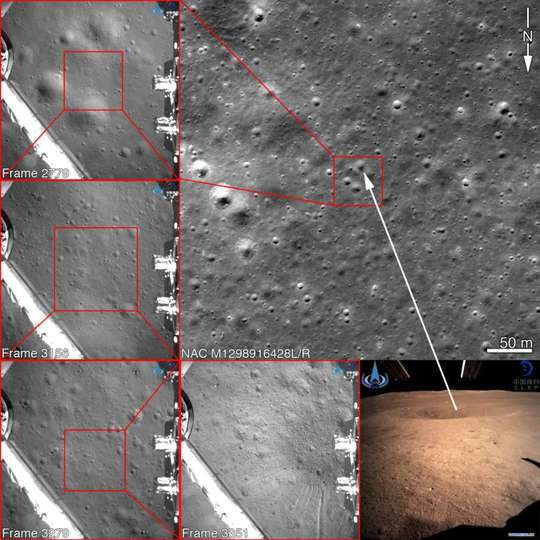 1c1ba3fbe8536 NASA「中国の月面着陸はウソじゃないみたい」。 探査わざわざ調査、航空写真で地形一致