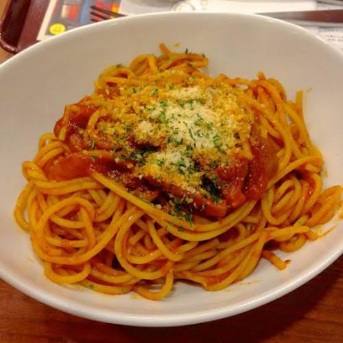 イタリアで食べたナポリタンの味が忘れられない...