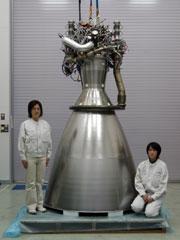 写真はJAXAのサイトのLNG推進系プロジェクトのページからの転載です。→http://www.jaxa.jp/projects/rockets/lng/index_j.html