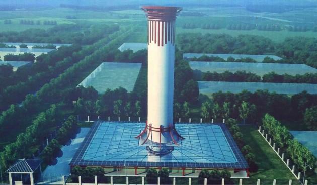 中国 「大気が汚いなら空気清浄機を建設すればいいじゃない」