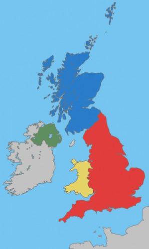 お前らならイギリス構成する4つの国くらい言えるよな?