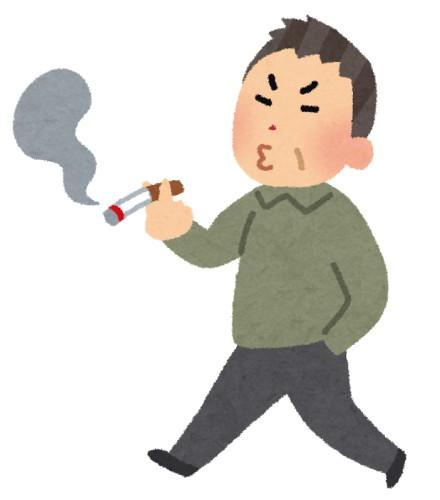 【悲報】歩きタバコしてるジジイに後ろから大声で「あつっ!!」って叫んだ結果wwwwwwwwwww