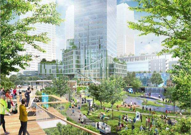 【再開発】 あと数年で大阪・梅田がこんな街になるんだが、これどうすんだよ、、おい、、
