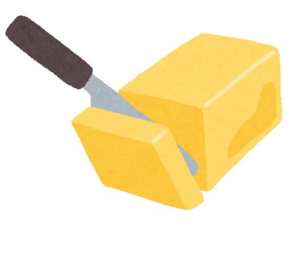 一人暮らし初めてバターの値段に驚愕した