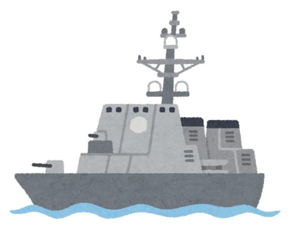 海自の護衛艦と中国漁船が衝突 乗組員は無事のもよう 東シナ海