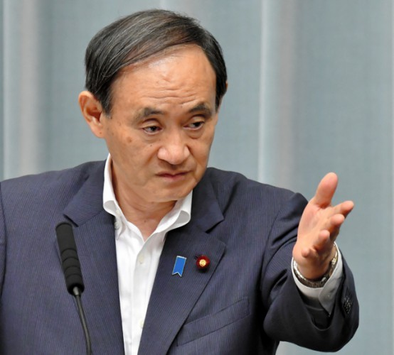菅官房長「(東京新聞・望月記者の質問は)取材じゃないと思いますよ」
