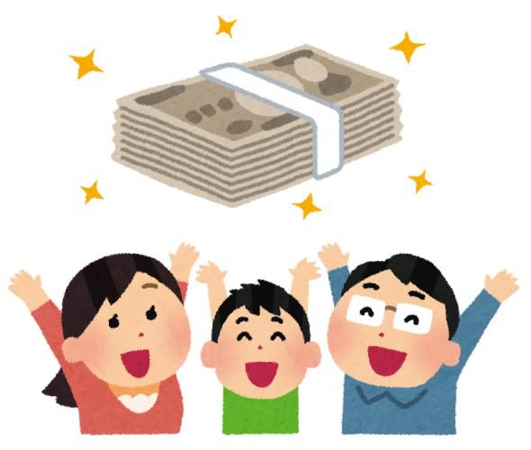 皆お金に困ってないし現金なんて給付しても意味ない。やっぱりここはフードスタンプ10万円分が最善でしょ
