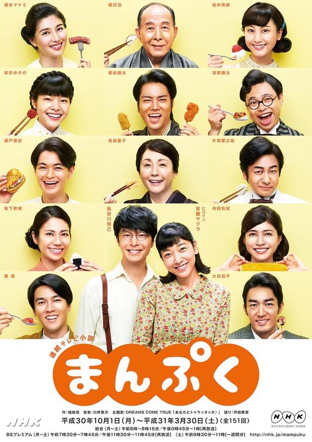 朝ドラ「まんぷく」初回視聴率23・8% 今世紀最高スタート