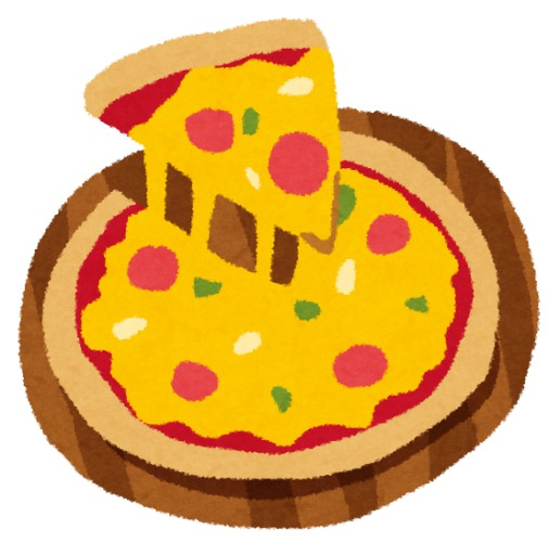 コンビニの200円くらいのピザいけるやん!!!!