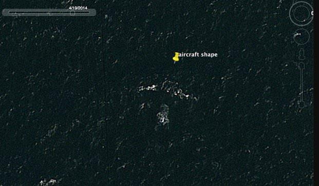 さすがgoogle MAP。行方不明のマレーシア航空機をgoogle MAP上で発見!