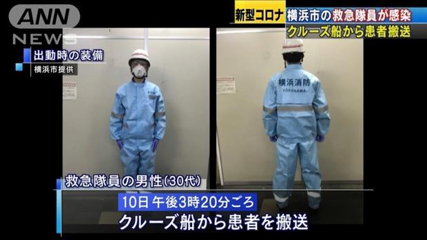 【画像】新型コロナに感染した救急隊員の格好がこちら w w