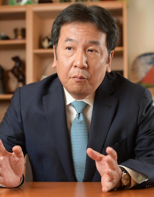 立憲・枝野氏「自民は『革命政党』、正統保守は我々」