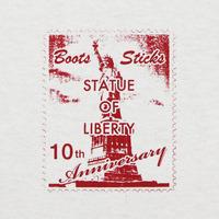 切手自由の女神