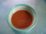豚肉ともやしのうま辛トマト炒めの残り汁