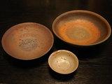 中本さんの鉢と皿