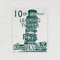 切手ピサの斜塔