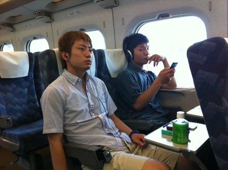 東京移動中のしょう・コマ