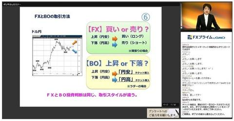 FXプライムbyGMOボリ平パワーアップセミナー3