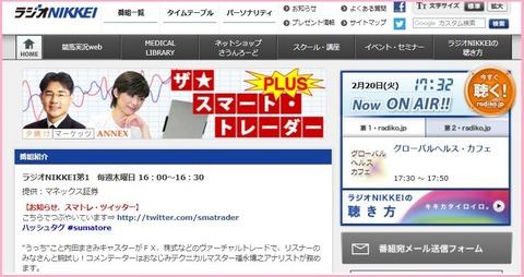 220ラジオ日経