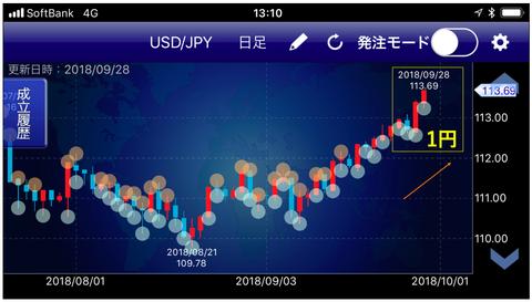 ドル円トラリピ