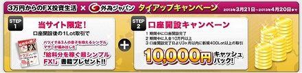 外為ジャパンタイアップキャンペーン
