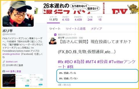 Twitterアンケート5
