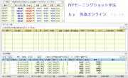 NYモーニングショット手法 12.16 外為オンライン