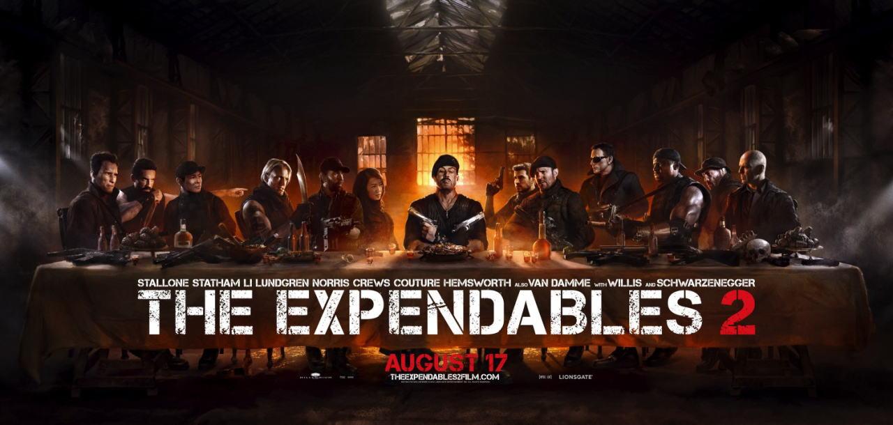 映画『エクスペンダブルズ2 PROMETHEUS』ポスター(8)▼ポスター画像クリックで拡大します。