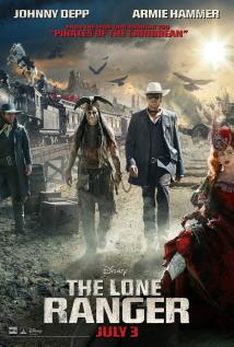 映画『 ローン・レンジャー (2013) THE LONE RANGER 』ポスター