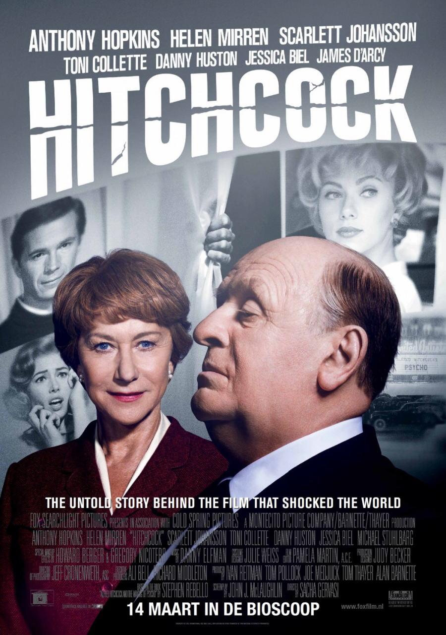 映画『ヒッチコック HITCHCOCK』ポスター(6)▼ポスター画像クリックで拡大します。