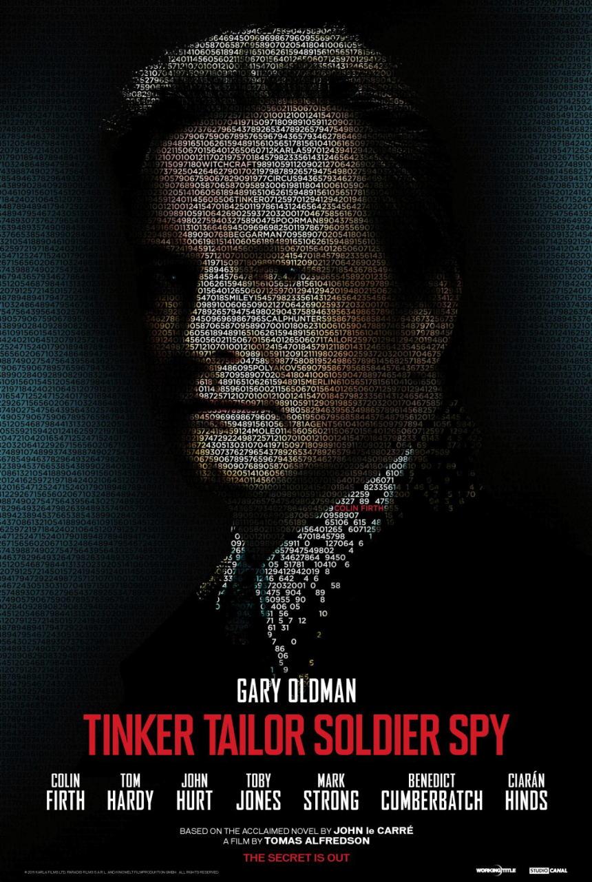 映画『裏切りのサーカス TINKER TAILOR SOLDIER SPY』ポスター(4) ▼ポスター画像クリックで拡大します。