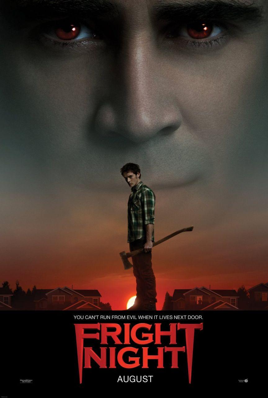 映画『フライトナイト/恐怖の夜』ポスター