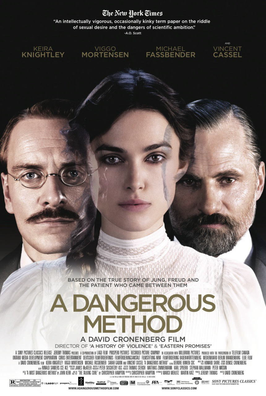 映画『危険なメソッド PROMETHEUS』ポスター(1)▼ポスター画像クリックで拡大します。
