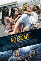 映画『 クーデター (2015) NO ESCAPE 』ポスター