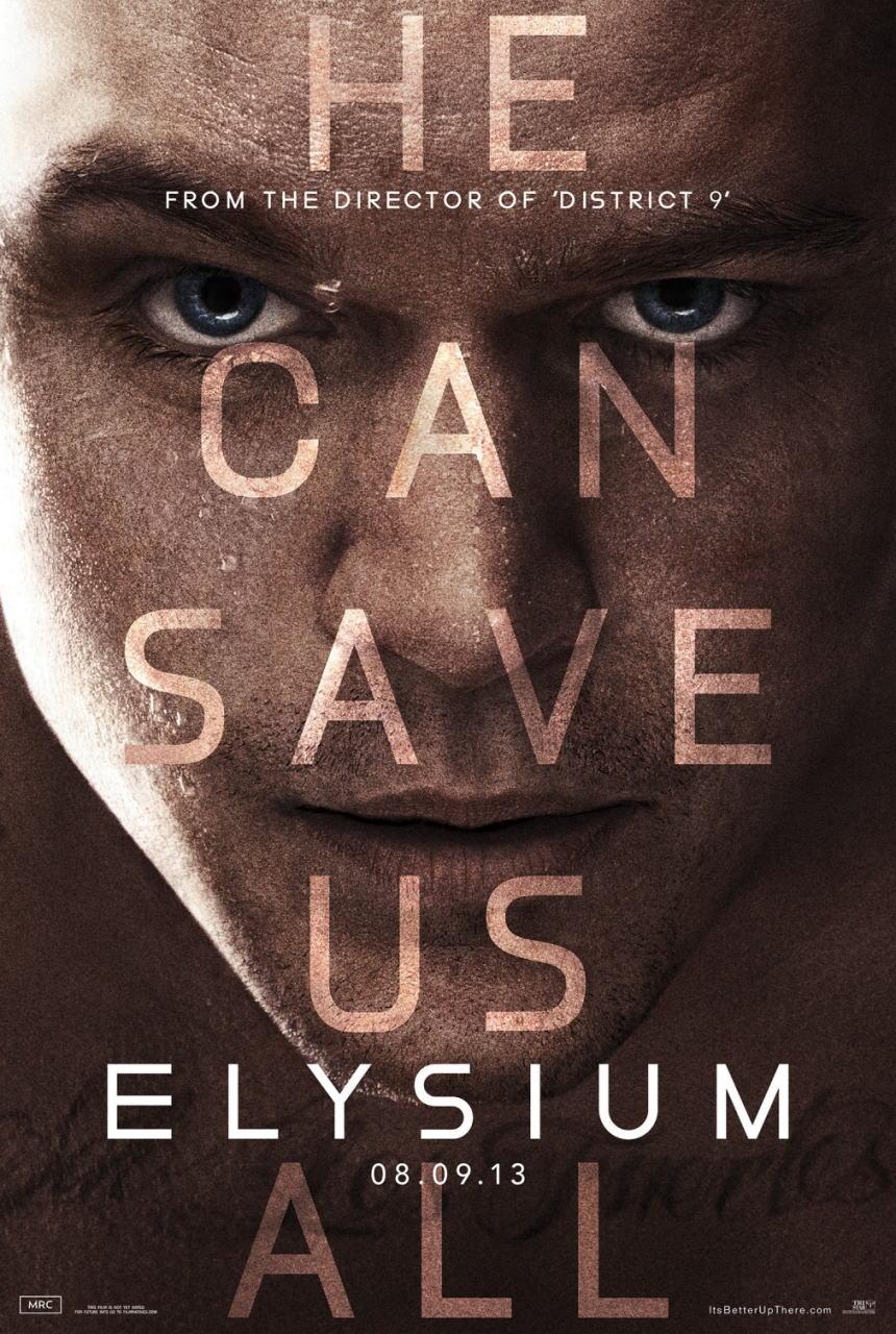 映画『エリジウム ELYSIUM』ポスター(3)▼ポスター画像クリックで拡大します。