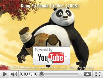 ※クリックでYouTube『カンフー・パンダ KUNG FU PANDA』予告編へ