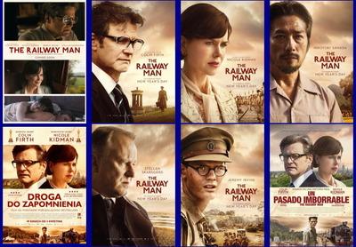 映画『レイルウェイ 運命の旅路 (2013) THE RAILWAY MAN』ポスター(4) ▼ポスター画像クリックで拡大します。