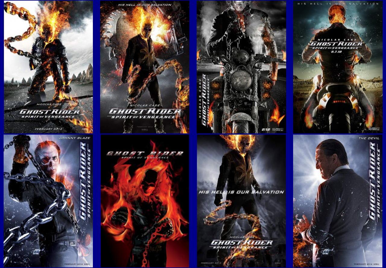 映画『ゴーストライダー2 GHOST RIDER: SPIRIT OF VENGEANCE』ポスター(8)▼ポスター画像クリックで拡大します。